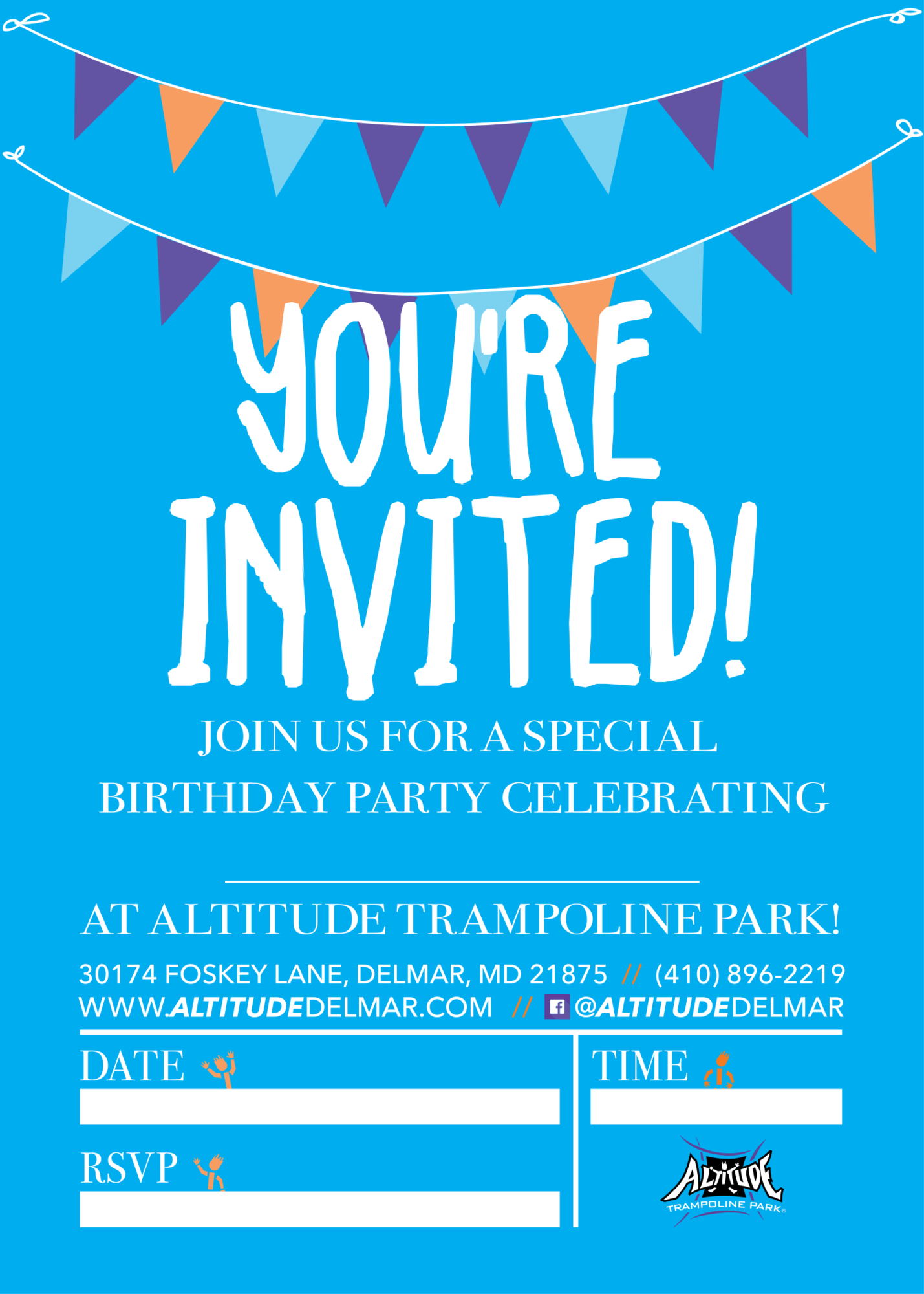 Download A Printable Invitation For Your Birthday Party Attendees