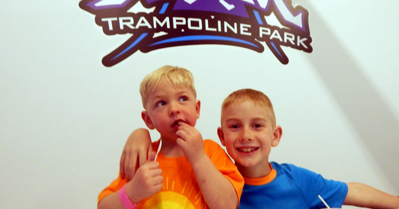 Trampoline Park - Family Fun Pack